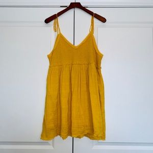 Free People Sundrenched Mini Dress, L